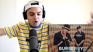 (REACCION) Myke Towers & Ñengo Flow - BURBERRY (Video Oficial) Themaxready