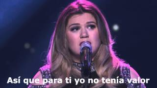 Kelly Clarkson   Piece By Piece Live Subtitulada
