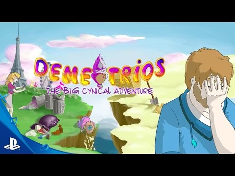 Demetrios – The BIG Cynical Adventure Trailer