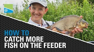 A thumbnail for the match fishing video **HOW TO CATCH MORE FISH ON THE FEEDER**