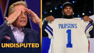 UNDISPUTED | Skip Bayless reacts Jerry Jones compares long & tall Cowboys defense to a Basketball