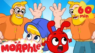 Double Daddy - Morrphle's Super Dad | Cartoons for Kids | Morphle TV