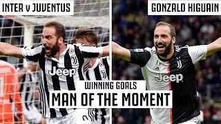 Gonzalo Higuain Late Winners v Inter! | Inter v Juventus Classic Moments