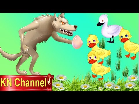 VỊT CON XẤU XÍ VÀ CHÓ SÓI | TRUYỆN CỔ TÍCH THIẾU NHI | Trò chơi KN Channel