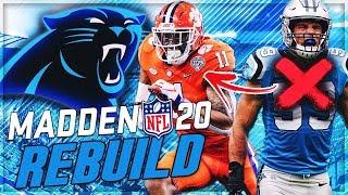 Rebuilding The Carolina Panthers -- Isaiah Simmons Replaces Luke Kuechly! | Madden 20 Franchise