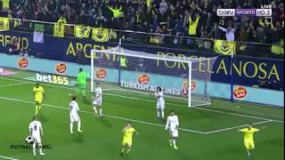 اهداف ريال مدريد(3-2) فياريال |الدوري الاسباني| سوار الذهب (2017-2-27 ...