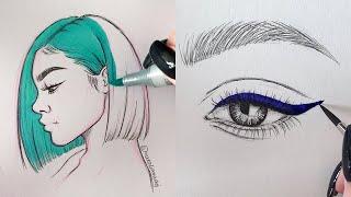 ODDLY SATISFYING ART VIDEOS 🤤😍 Part 6 | Natalia Madej Compliation