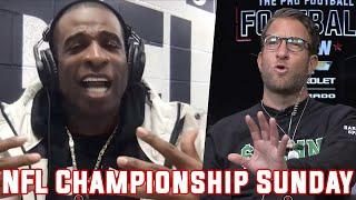 Dave Portnoy & Deion Sanders Settle Josh Allen vs. Lamar Jackson Debate — Pro Football Football Show