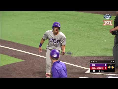 TCU vs Texas Tech Baseball Highlights - Game 1