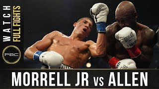 Morrell Jr vs Allen FULL FIGHT: August 8, 2020 - PBC on FOX
