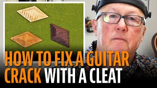 Watch the Trade Secrets Video, How to Fix a Guitar Crack Caused by Humidity Damage