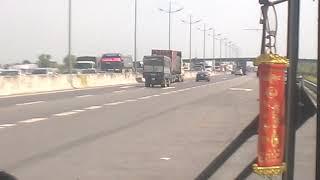 Kẹt xe trên cao tốc Trung Lương (đoạn trạm dừng chân) trưa ngày 23/2/2019