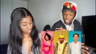 Chris Brown - Wobble Up (Official Video) ft. Nicki Minaj, G-Eazy | Reaction!
