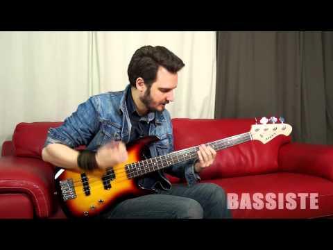 Test : Aria STBP sunburst - Bassiste Magazine #47