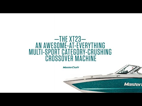 2017 MasterCraft XT23 | CROSS LIKE A BOSS