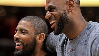 Kyrie Irving Talks To Kobe About REUNITING With LBJ As Celtics Owner Says He Thinks Kyrie's LEAVING