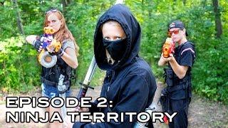 ELITE NERF STRIKE   Episode 2: Ninja Territory (Nerf War Movie)