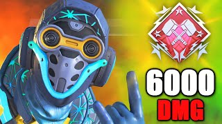6000 DAMAGE has been Achieved with Octane in Apex Legends