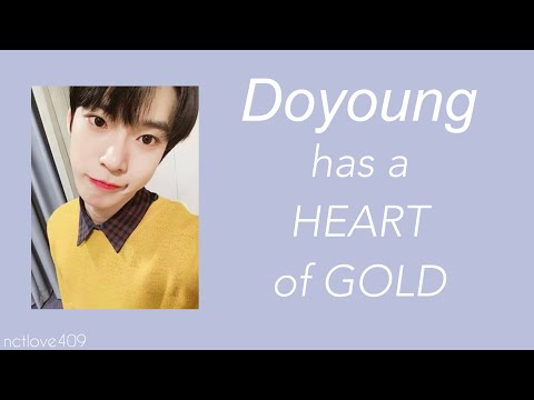Doyoung has a heart of gold. #HappyDoyoungDay