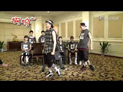 130607 EXO Dance Cut (Lay, Kai & Sehun)