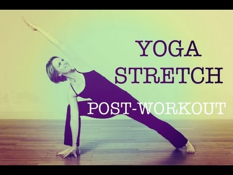 10 minute post workout yoga stretch 1  youtube