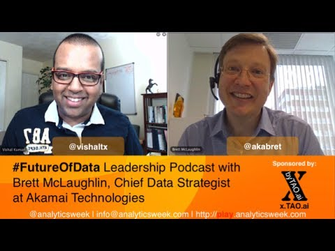 Discussing Forecasting with Brett McLaughlin (@akabret), @Akamai
