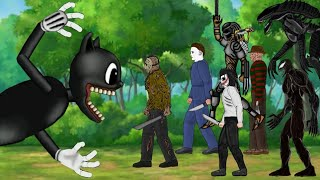 🔥 Cartoon Cat vs Alien, Jason, Jeff the killer, Michael Myers, Freddy Krueger, Venom, Predator | Dc2
