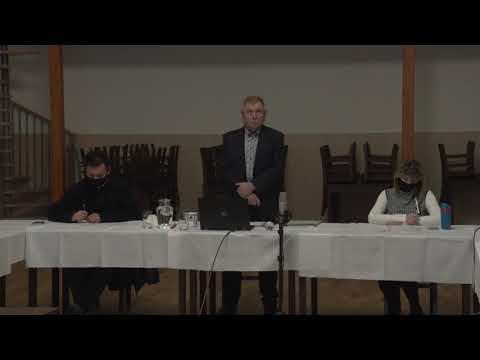 Zastupitelstvo města Hoštky  - 11. zasedání 21.12.2020