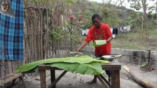 Aeta Bamboo Rice Cooking in Pampanga