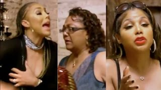 Tamar Braxton goes off on her father and his wife Wanda. DRAMATIC SCENE!