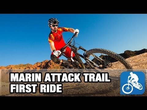 Marin Attack Trail 2014 - First Ride