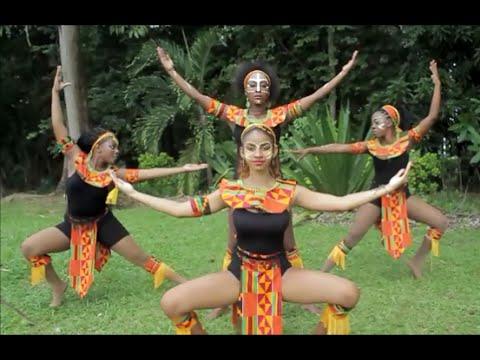 Afro House & African Caribbean Folk Dance Choreography by Priscilla Gueverra #AfricanDance