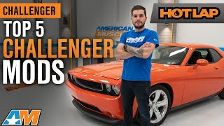 Top 5 Mods For Your 2009 - 2014 Dodge Challenger – Hot Lap