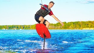 FLYING SURFBOARD!!