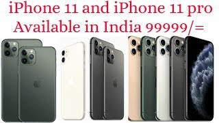 Introducing iPhone 11 pro and iPhone 11 |12MP Triple Camera |iOS 13