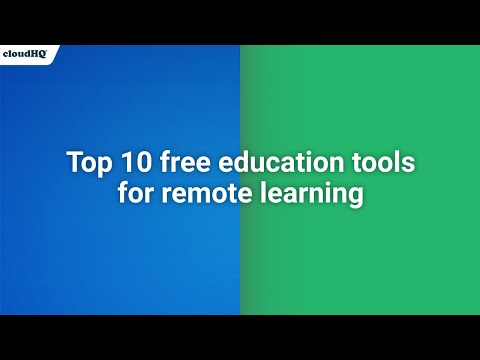 10 Free Education Tools for a Remote Learning Setup in 2020-2021