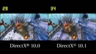 DirectX 10 - DirectX 10.1 összehasonlítás