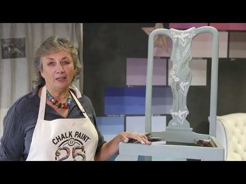 How to stencil a chair with Chalk Paint® - Part 2