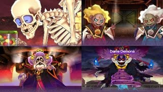 Yo-Kai Watch 2 All Bosses - Main Story