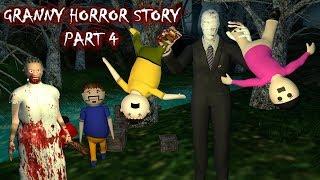 Android Game - Granny Horror Story Part 4 (Animated Cartoon For Kids) Make Joke Horror