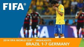 BRAZIL v GERMANY (1:7) - 2014 FIFA World Cup™