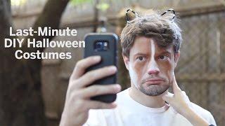 Some DIY last minute Halloween costume ideas
