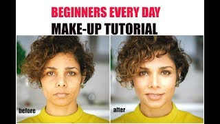HOW TO LOOK PRETTY WITH MAKEUP/ 5 minutes NATURAL MAKEUP