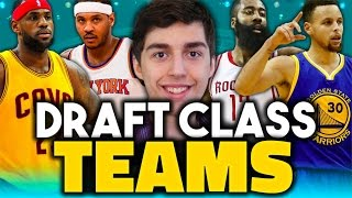 WHAT IF EVERY NBA DRAFT CLASS WAS A TEAM? NBA 2K16 MY LEAGUE