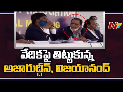 War of words between HCA president Azhar and R Vijayanand over ombudsman appointment