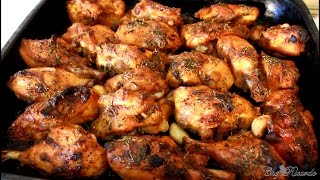 Garlic Oven Baked Chicken Recipe (Jamaican Way Of Cooking) | Recipes By Chef Ricardo