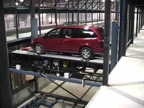 PFlow Industries Fully Automatic Robotic Parking Garage