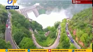 Watch Beautiful Drone Visuals of Srisailam Dam-Exclusive t..