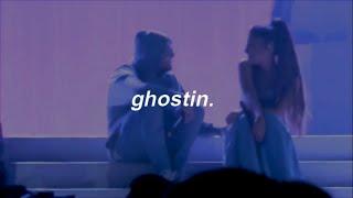 ariana grande - ghostin (español)