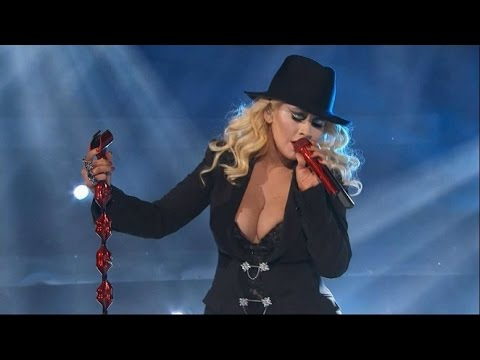 Christina Aguilera - 2015 NBA All Star Game